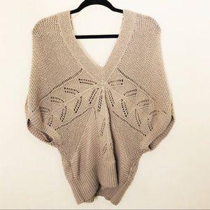 ⚡️$DROP⚡️Lauren Conrad Cozy Knitwear Short Sleeve